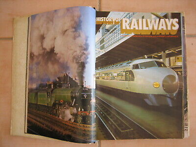 HISTORY OF THE RAILWAYS Magazines (Issues 1 - 25)