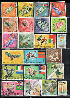 Togo  Africa Stamps   Used   Lot  392001