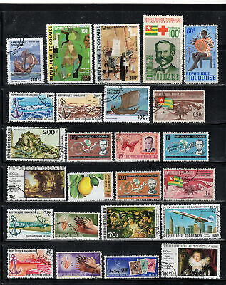 Togo  Africa Stamps   Used   Lot  392003
