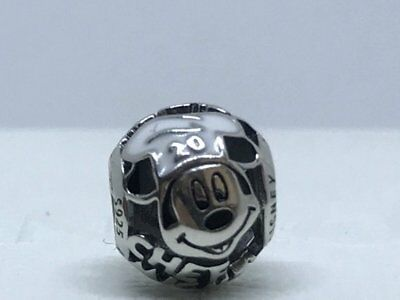 Authentic Pandora Sterling Silver S925 ALE Disney Parks Chef Mickey Charm
