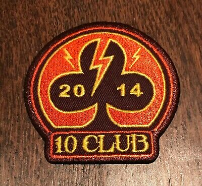 Pearl Jam 10 Club 2014 Patch Ten New Unused