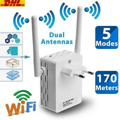 300Mbps WiFi Repeater Wireless-N Range Extender Lan 802.11 b/g/n Network Router