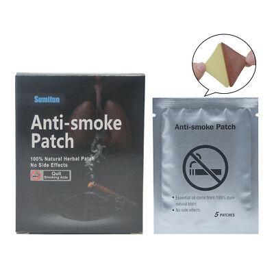 Sumifun 70Pcs/2Boxes Anti Stop Smoking Patch 100% Natural Ingredient Plaster