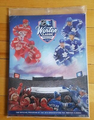 2014 NHL Winter Classic Toronto Maple Leafs Detroit Red Wings Official Program
