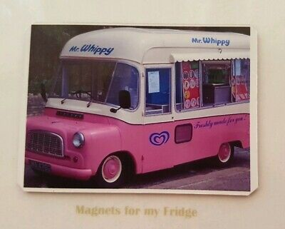 Vintage Mr Whippy Ice Cream Van Fridge Magnet - M503 Pdf