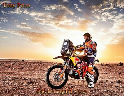 Toby Price Poster Dakar Legend 2019