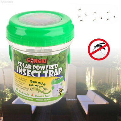 674E Solar Energy Mosquito Killer Mosquito Trap Pest Bug Zapper Garden Tools