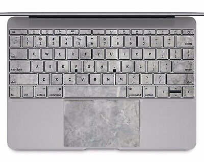 Macbook Pro Air 13 15 keyboard Stickers cover Decal Skins concrete marble KB603