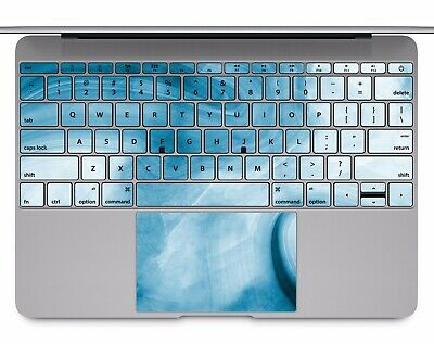 Macbook Pro Air 13 15 keyboard Stickers cover Decal skins blue marble KB080
