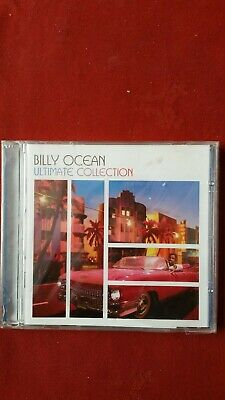 Billy ocean ultimate collection cd brand new sealed in cellophane greatest hits