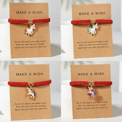 Wish Bracelet Red Lucky String Adjustable Bracelets Women Kids Charm Jewelry