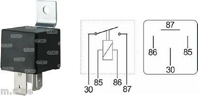 4 Pin Relay Switch High Performance High Quality Hd 24V 70A Cargo 160975