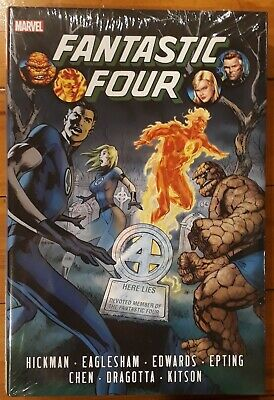 Marvel Omnibus: FANTASTIC FOUR By Jonathan Hickman, Rare-OOP, Factory Sealed