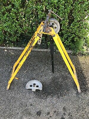 Used HILMOR EL25 SHORTIE Pipe Conduit Pipe Bender Stand with Vice Clamp