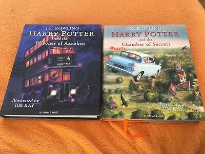 Harry Potter & the Prisoner of Azkaban: Signed Illustrated Edition By JK Rowling