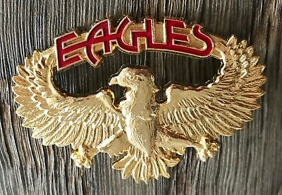 The Eagles Golden Brooch From France Hotel California 1977