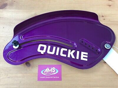 Sunrise Medical Quickie Neon Swing Away Wheelchair Side Panel / Mud Guard, Parts