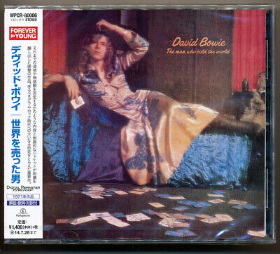 David Bowie - The Man Who Sold The World / Japan CD / Sealed! Out of print!