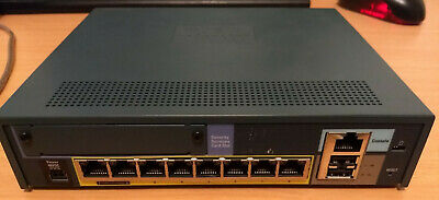 Cisco ASA 5505 Firewall (Adaptive Security Appliance) with PSU and SEC+ License
