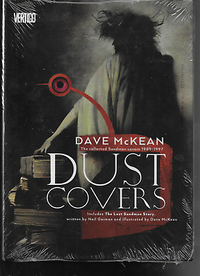 Dust Covers Collected Sandman Covers by Neil Gaiman & Dave McKean 2014 HC DC OOP