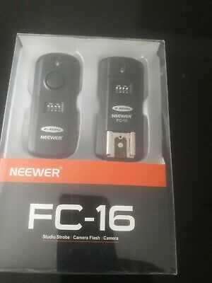 ****BRAND NEW NEVER USED ****Neewer FC-16 3-IN-1 Wireless Flash Trigger