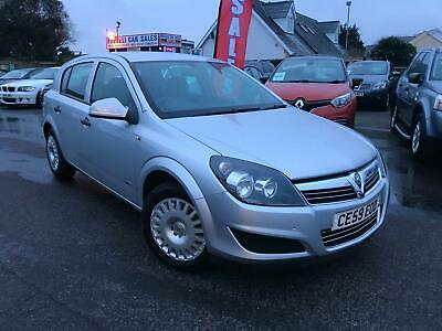 2009 59 Vauxhall Astra 1.4 A/c Life 5Dr # Sale Price £2500 Save £299   # Finance