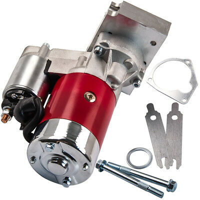 700HP Small & Big Block for CHEVY V8 Mini Starter Motor (Red) 3HP 305 350 454