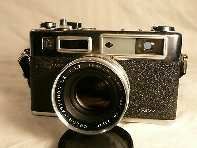 Yashica Electro 35 GSN 35mm Rangefinder Film Camera IOB Restored to working cond