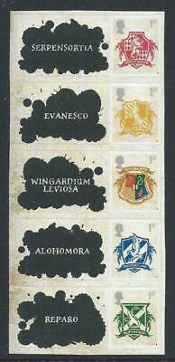 Gb 2007 Harry Potter Self Adhesive First Class Stamps From Smilers Sheet Ls41