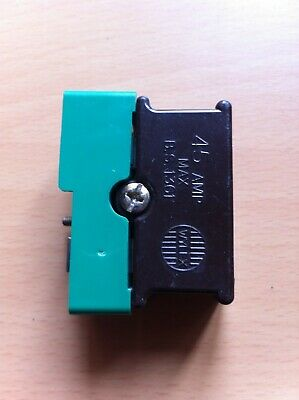 Wylex 45A Cartridge Fuse with Base & Screw bolt (working fuse inside)