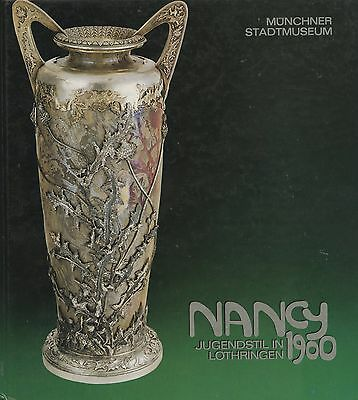 French Nancy Art Glass Pottery Furniture / Scarce Illustrated Book (German Text)
