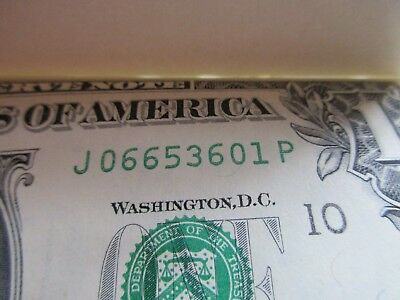 ONE Dollar Bill-$1 from Christmas Pack  1995-Perfect Condition-Birth Year 1995??