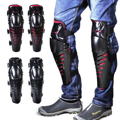 2pc Knee Protector Guard Pad Off-Road Gear Armor for Motorcycle Motocross Racing