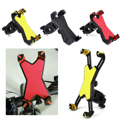 Handlebar Cell Phone Mount Holder Stand 360 Rotating Motorcycle Bike Bicycle MTB