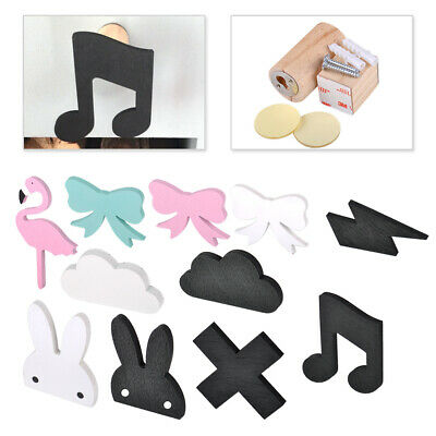 Cute Wood Clothes Coat Hook Kids Room Wall Decor Children Room Hanger Cloud Hook