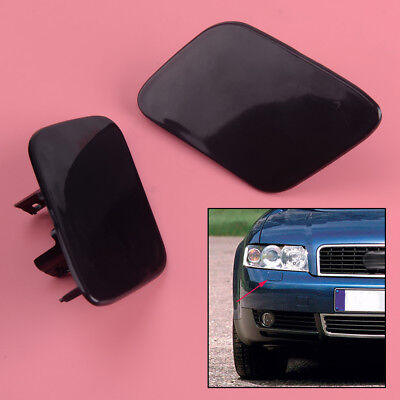 Primed A4 02-05 HEADLIGHT WASHER COVER RH and LH