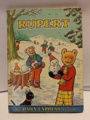 SELECTION OF RUPERT THE BEAR ANNUALS and BOOKS