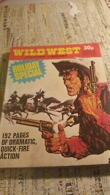 Wild West Picture Library Holiday Special Western Six Shooter Gunfighter 1970s