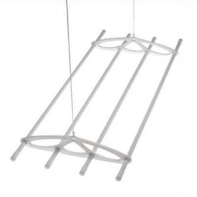 Silverstyle 6ft White Hanging Ceiling Laundry Clothes Airer Dryer Drier