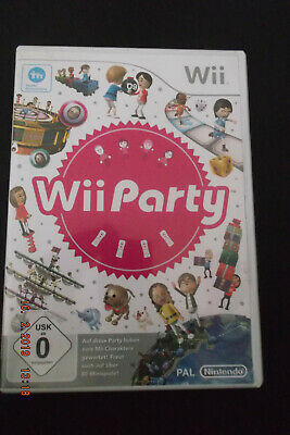 Wii Party (Nintendo Wii, 2010, DVD-Box)