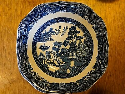 """Blue Willow Round Serving Bowl 7"""""""