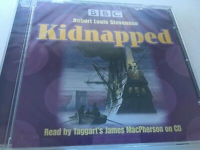 NEW BBC kidnapped audio cd robert louis stevenson classic read james macpherson