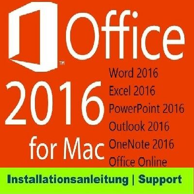 Microsoft Office 2016 Home and Business for MAC Standard 1 Pc #1