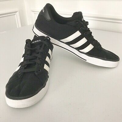 finest selection f27ee ab375 Shoes Adidas NEO Label Size 10.5 Ortholite Comfort Sole Black Canvas Cushion