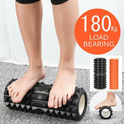 IBASETOY 2 in 1 Foam Roller Exercise High Density Trigger Point Physio Massage