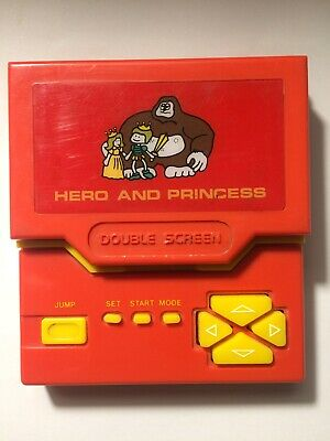 Console Hero And Princess Game And Watch Tablepad Jeu Électronique Double Screen