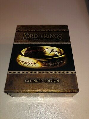 Lord Of The Rings Extended Edition Blu-Ray 15-Disc Box Set A Beautiful Piece!
