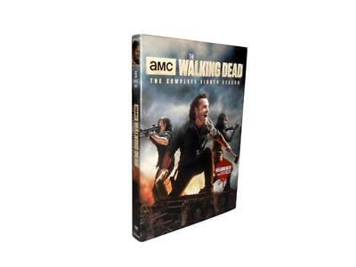 The Walking Dead: The Complete Eighth Season 8 (DVD, 2018, 5-Disc Set)