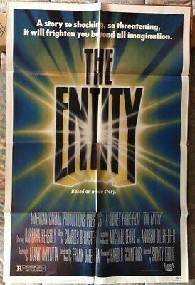 423daffb8ae 1983 The Entity Original 1SH Movie Poster  830003 (Horror)
