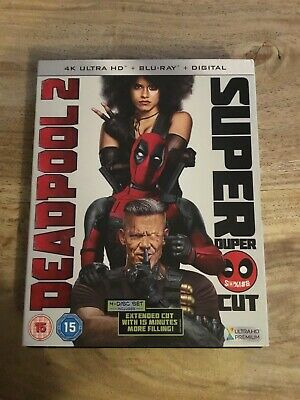 Deadpool 2 4k UHD Blu Ray